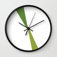 kermit Wall Clocks featuring Kermit by Paola Fischer