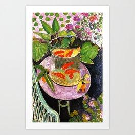 Henri Matisse Goldfish 1911 Art Print
