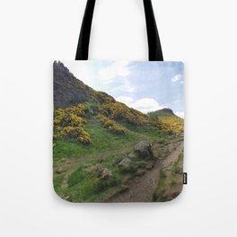 Holyrood park Tote Bag