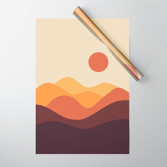 Geometric Landscape 21 by theoldartstudio