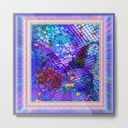 """""""Mother of Butterflies"""" by surrealpete Metal Print"""
