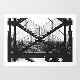 X-X Art Print