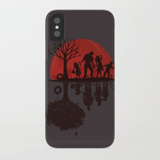 A Family Once (dark version) iPhone Case