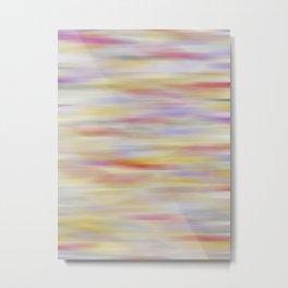 Purple, Orange & Yellow Abstract Metal Print