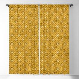 Yellow Star Attica Blackout Curtain