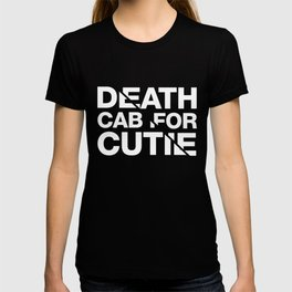 Death Cab For Cutie Typography Tee T-shirt