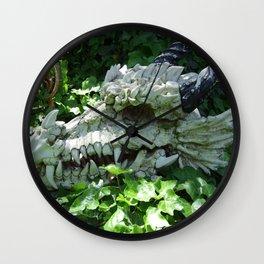 Dragon Skull Wall Clock