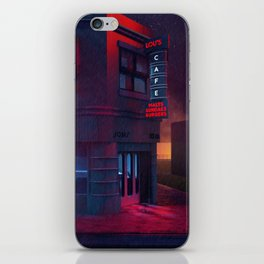 Back To The Future Lou's Cafe iPhone Skin
