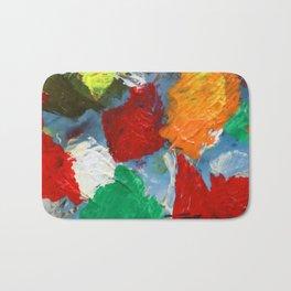 The Artist's Palette Bath Mat