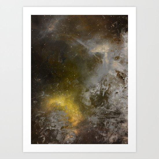 γ Asellus Borealis Art Print
