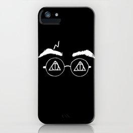 Horcrux White Potter iPhone Case