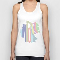 germany Tank Tops featuring Impossible Germany by Ethan M Kaplan