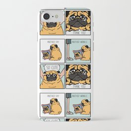 Another Wrinkle Pug iPhone Case