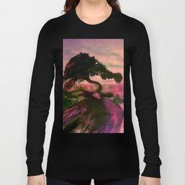 Cypress in Carmel California Long Sleeve T-shirt