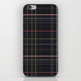 A very glommy plaid iPhone Skin