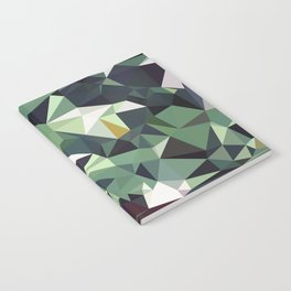 Martinique Low Poly Notebook