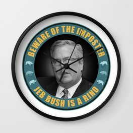 Jeb Bush Is A RINO Wall Clock