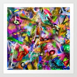 ASINTOTO (silenzio interiore) Art Print
