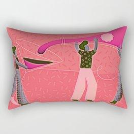 A Girls Party Rectangular Pillow