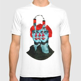 The cats in my head T-shirt