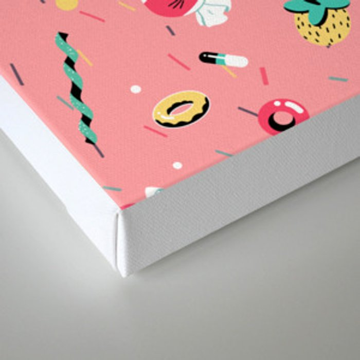 Sugar & Vice Canvas Print