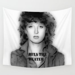 RITA THE BEATER Wall Tapestry
