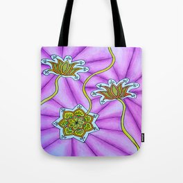 Lotus Flowers Tote Bag