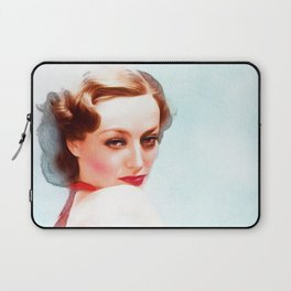 Joan Crawford, Actress Laptop Sleeve