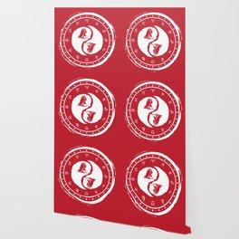 Virgo Yin Yang Sixth Zodiac Sign Wallpaper