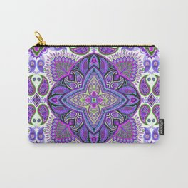 Boho Paisley Floral Var. 15 Carry-All Pouch