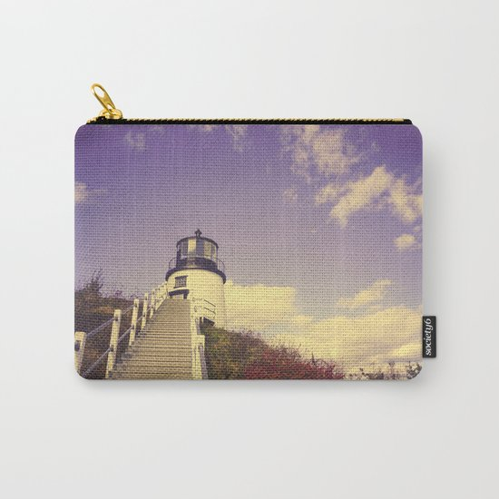 Maine Coast Lighthouse Carry-All Pouch