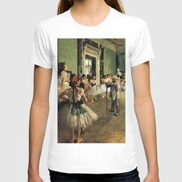 The Ballet Class--- Edgar Degas T-shirt