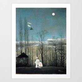 Henri Rousseau Carnival Evening Art Print