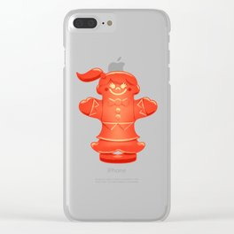 Candy Lady Clear iPhone Case