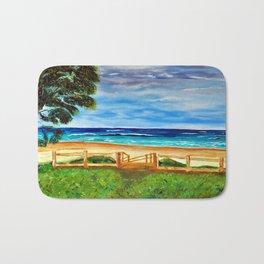 Post card Bath Mat