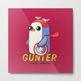 Gunter Metal Print