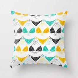 Bikini Collection #3 Throw Pillow