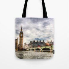 Westminster Bridge Tote Bag