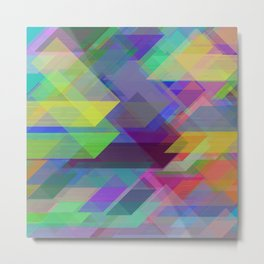 Dreaming of triangles Metal Print