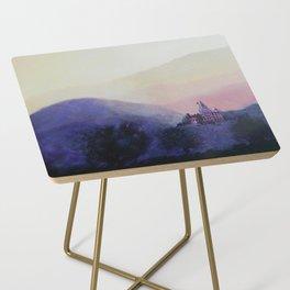 Zen Mountains Side Table