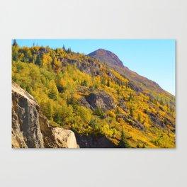 Alaskan Autumn - Painting Canvas Print
