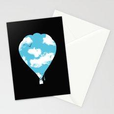 sky balloon Stationery Cards