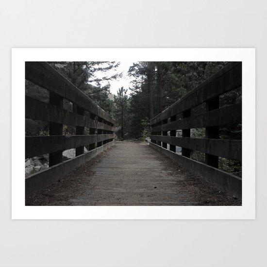 Lonely Path Art Print