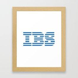 IBS Framed Art Print