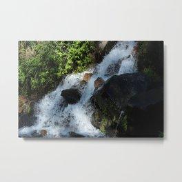 River Rapids in Peguche Metal Print