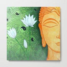Buddha Serene Metal Print