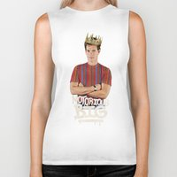 notorious big Biker Tanks featuring Notorious BIG by Alpha-Tone