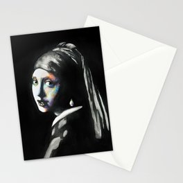 Girl with the pearl Stationery Cards