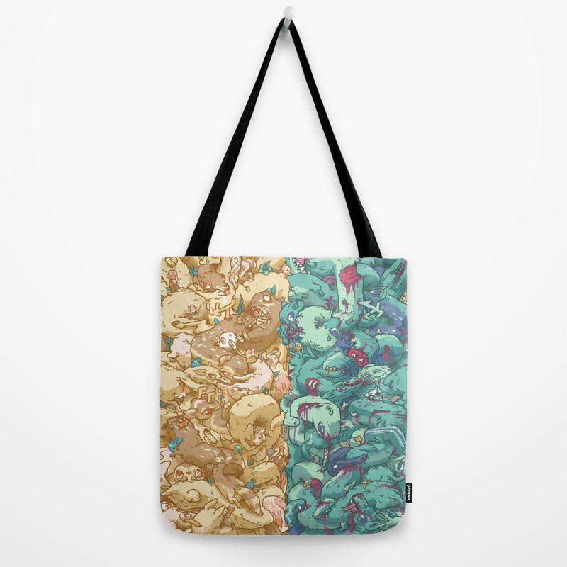 Saturnalia Donnybrook Tote Bag By