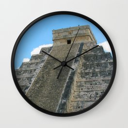 Chichen Itza Pyrmid Wall Clock